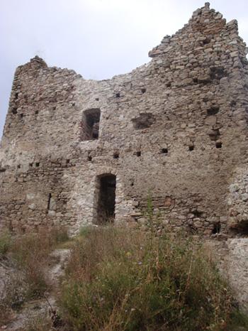 Velički grad - zidine (foto: Željka Majić)