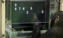 Čimpanza na testiranju (foto: PrtScr YouTube)