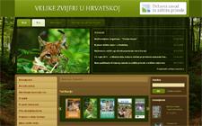 Pokrenuta stranica o velikim zvjerima u Hrvatskoj (foto: Prt Scr)