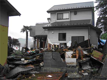 Srušeni domovi (foto: ustupljena s prezentacije)