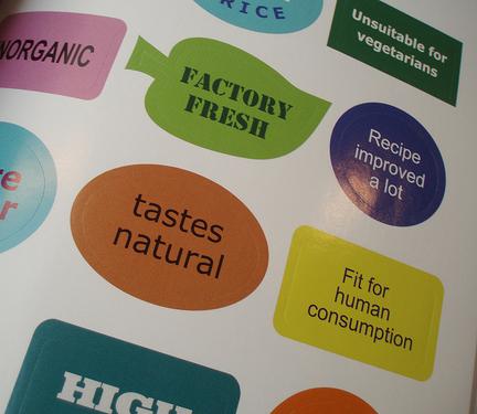 Oznake za hranu (foto: Flickr)