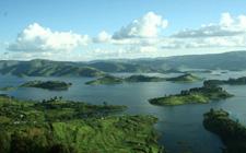 Jezero Bunyonyi (foto: Wikipedia)