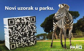 Novi uzorak u parku (dizajn: Valentina Dominić)
