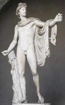 Apolon Belvedere (foto: Wikimedia Commons)