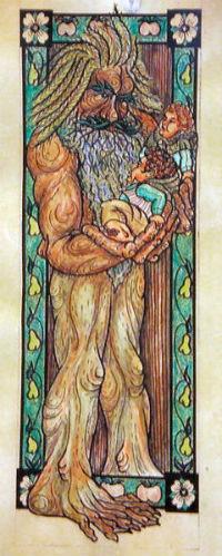 Drvobradaš (izvor: Wikimedia Commons)