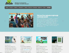 Službena stranica udruge Bioteka (dizajn: Valentina Dominić)