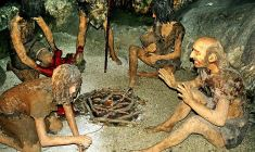 Neandertalci, rekonstrukcija (foto: Wikimedia Commons)