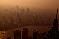 Smog u Šangaju (foto: Lei Han/Flickr)