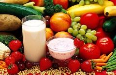 Voće, povrće, mlijeko (foto: Wikimedia Commons)