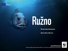 Kampanja Ružna riba (foto: WWF)