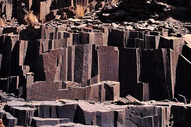 Bazaltne strukture u Namibiji (foto: Schnobby, en.wikipedia.org)