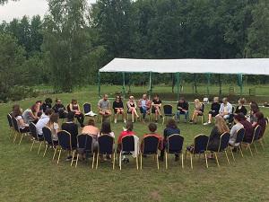 Svakodnevni krug za reflection i diskusije (foto: Nerijus Miginis)