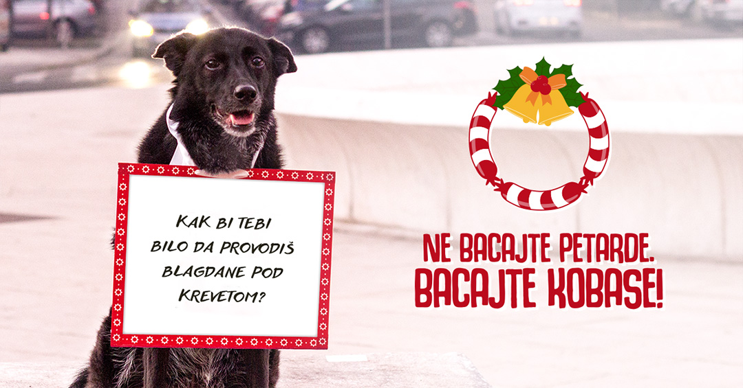 Ne bacaj petarde (foto: bacajte-kobase.hr)