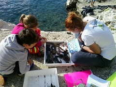 Djeca u Dubrovniku (foto: Udruga Bioteka)