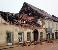 Potres Petrinja (foto: Wikimedia Commons)